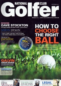 National Club Golfer November 2011 | Richard Ellis Golf