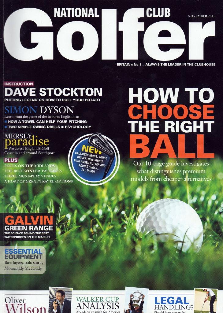 National Club Golfer November 2011 | Richard Ellis Golf